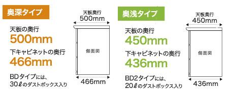 綾野製作所バリオシリーズ食器棚 浅い形cm