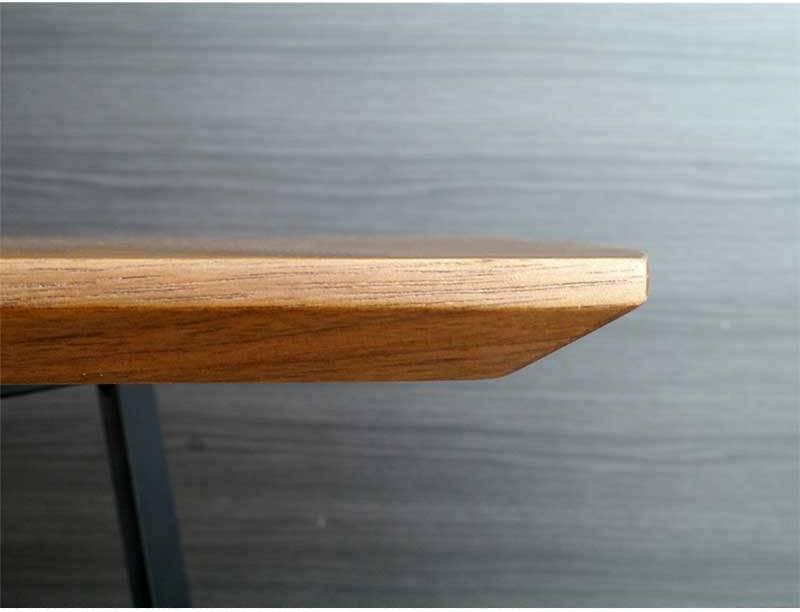 天然木の強い安い組立簡単なテーブルつくえ