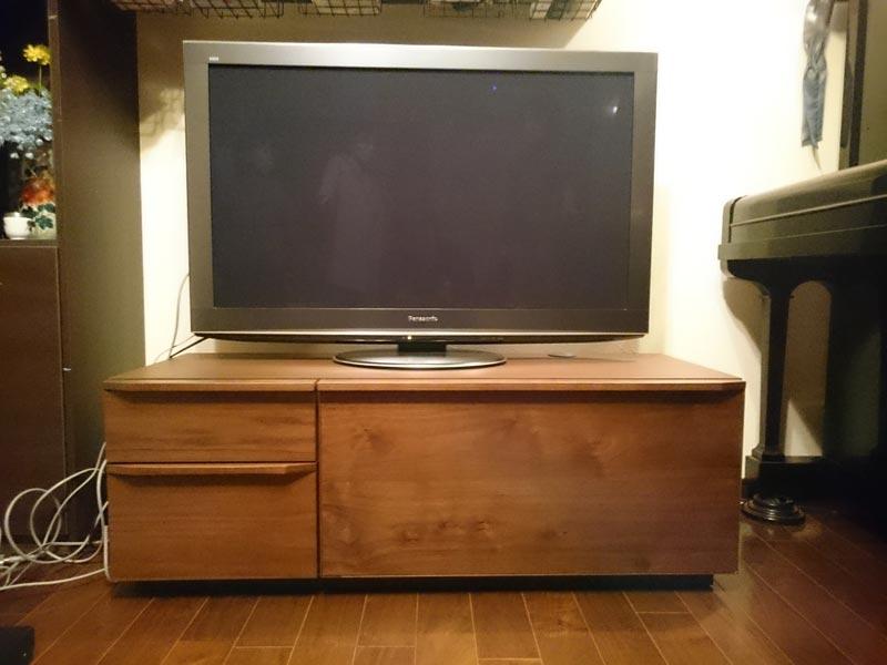隠してみせるテレビボード納品事例21