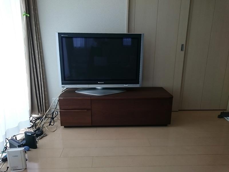 隠してみせるテレビボード納品事例24