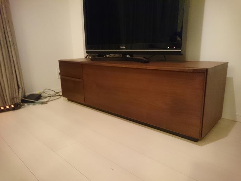 隠してみせるテレビボード納品事例25
