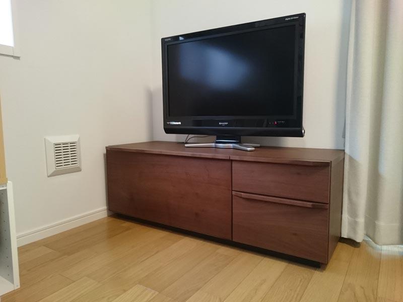 隠してみせるテレビボード納品事例22