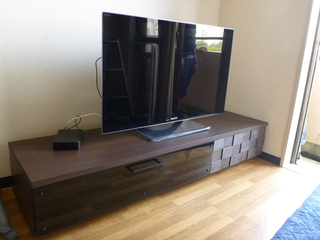 ネオビンテージテレビボード納品事例4