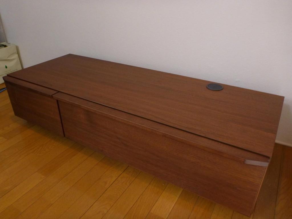隠してみせるテレビボード納品事例3