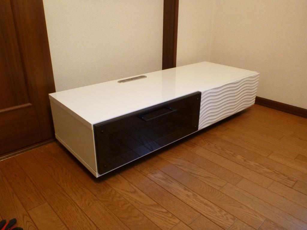 モダンアートテレビボードの納品事例