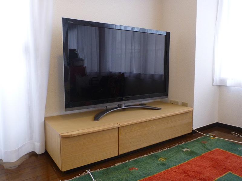 隠してみせるテレビボード納品事例10