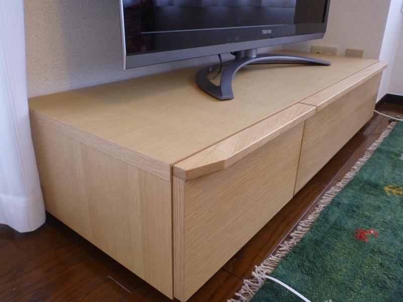 隠してみせるテレビボード納品事例11