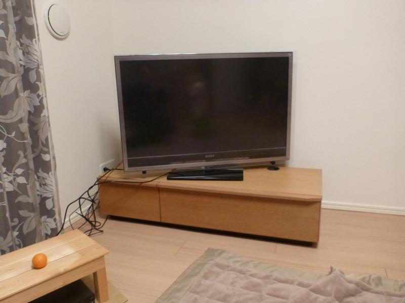 隠してみせるテレビボード納品事例12