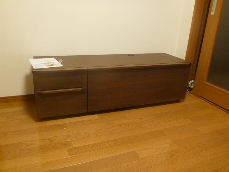 隠してみせるテレビボード納品事例15