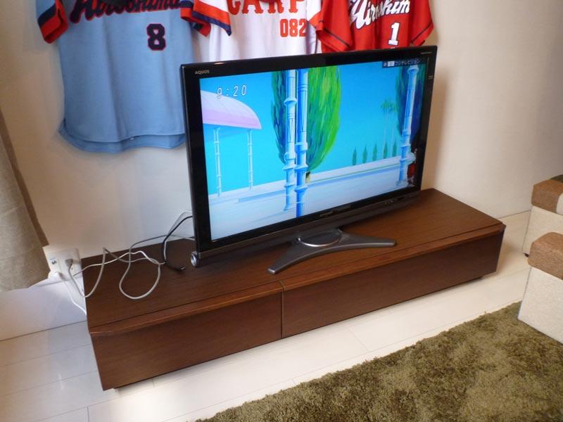 隠してみせるテレビボード納品事例20