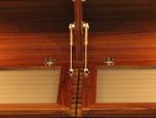 高級木材ウォールナット材を使用した日本の家具職人の渾身のテレビ台
