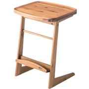 サイドテーブルの無垢の小さい女子に人気の机