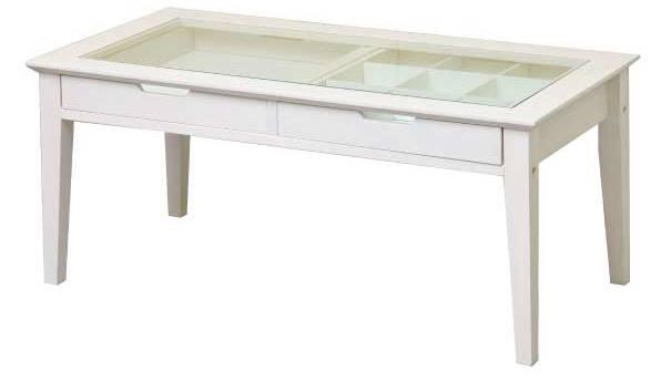 コレクションテーブルの白いかわいいデザイン姫系女子