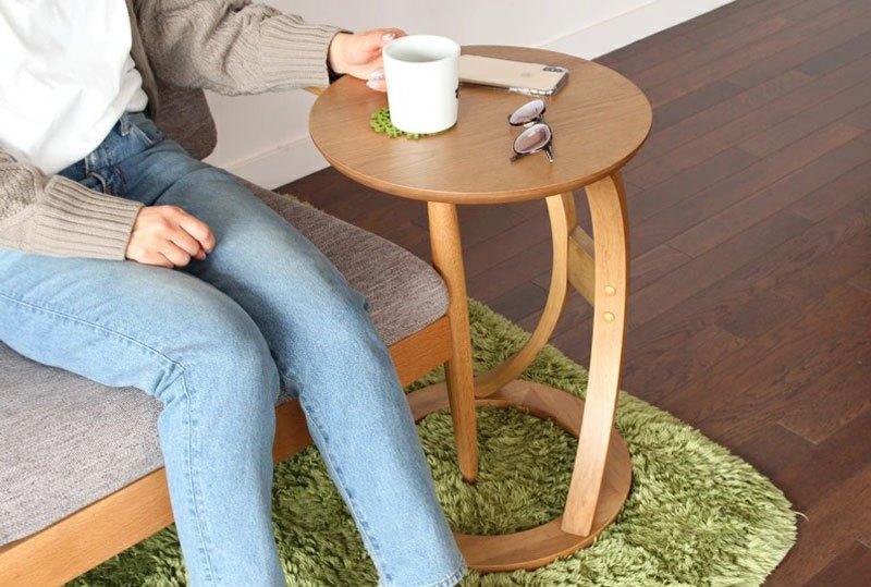 安くて小さくて丸いサイドテーブル