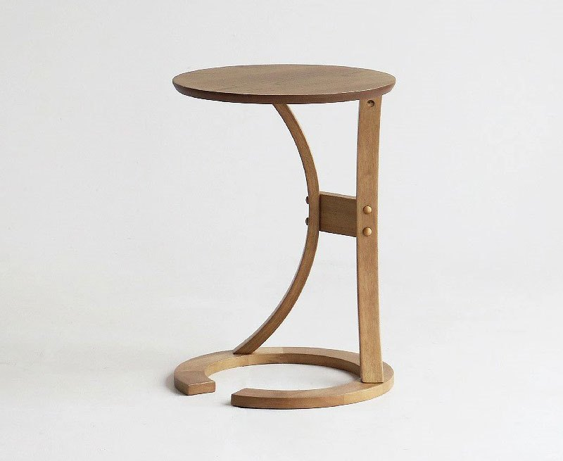 ラウンドサイドテーブル 小さくて丸いサイドテーブル