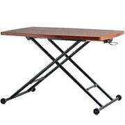 昇降テーブル 高い 低い にも対応できるテーブル