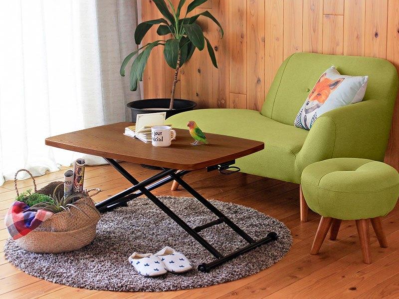 ソファに合わせる小さいテーブル 安い小さい