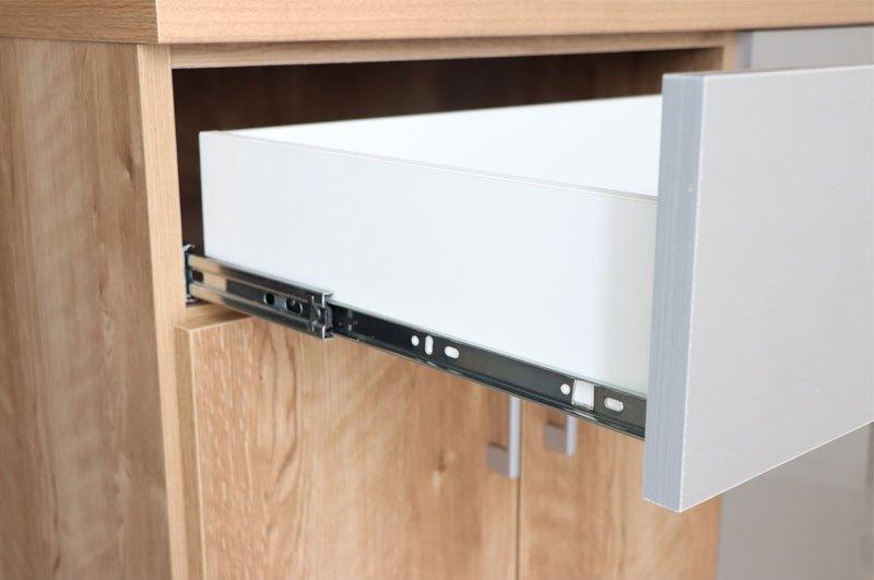 引き出し収納 シンプル食器棚 コンパクト