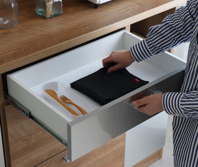 食器収納 日本製 レンジ台 使いやすい 送料無料