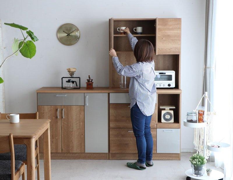 キッチン収納 日本製 収納庫