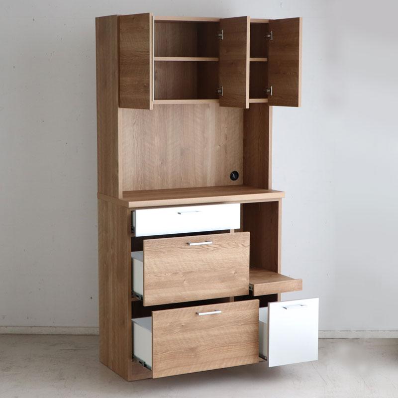 使いやすい食器棚 日本製 コンパクト 収納
